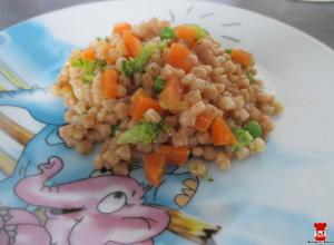 Tarhoňovo-zeleninový šalát