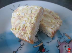 Šunkovo-vajíčková nátierka
