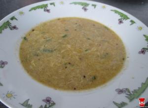 Vajíčková polievka