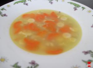 Zeleninovo-kuracia polievka