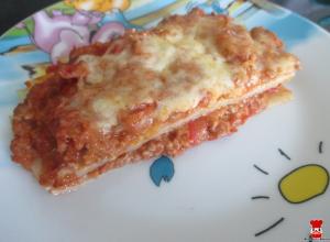 Detské lasagne
