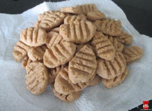 Maslovo-kokosové sušienky