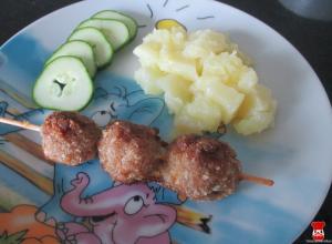 Pečené mäsové guľky