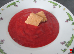 Domáca marhuľovo-slivková výživa