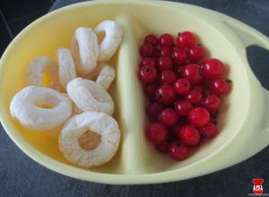 Jablkové krúžky a ríbezle