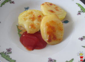 Pečené zemiaky s mozzarellou