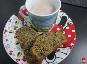 Raňajkový banánový chlebík